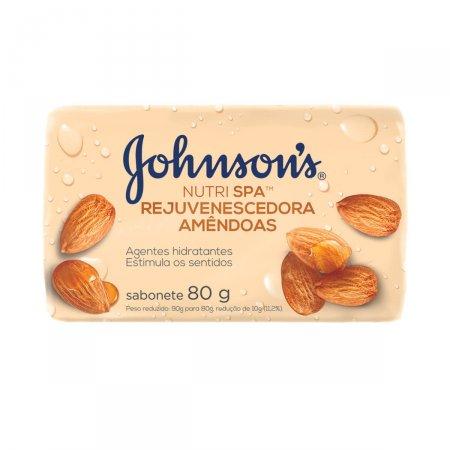 Sabonete em Barra Johnson's Amêndoas com 80g