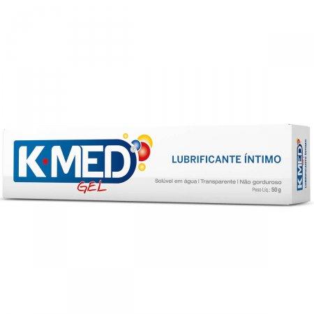 Gel Lubrificante K-med Com 50g