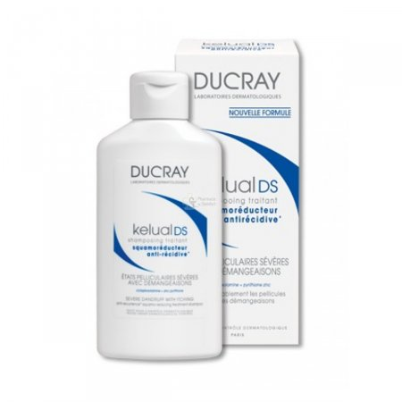 Shampoo Ducray Kelual Ds Anticaspa 100ML