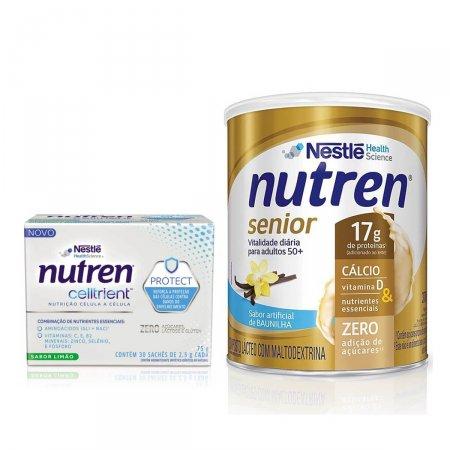 Kit Nutren Senior Baunilha + Celltrient