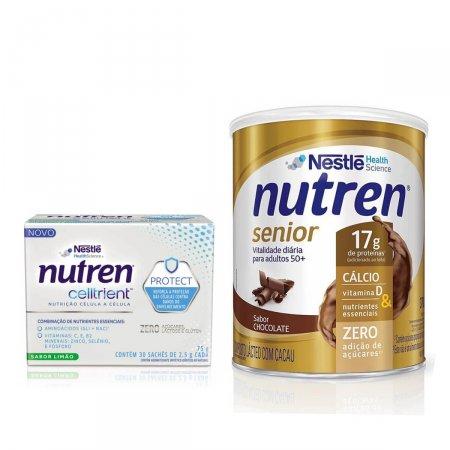 Kit Nutren Senior Chocolate + Celltrient