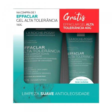 Kit Gel de Limpeza Facial Effaclar Alta Tolerância 150g Grátis Gel de Limpeza Effaclar Alta Tolerância 40g |