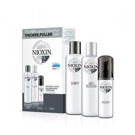 Kit Nioxin Sistema 2 Shampoo + Condicionador + Leave-In