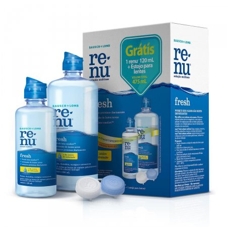 Renu Fresh Pack-on 355ml+120ml+Estojo