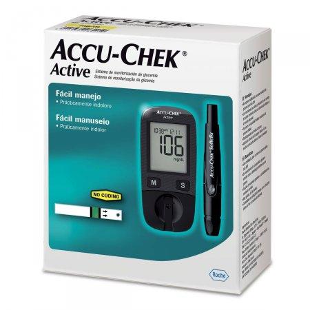 Kit Monitor Accu-Chek Active Controle de Glicemia