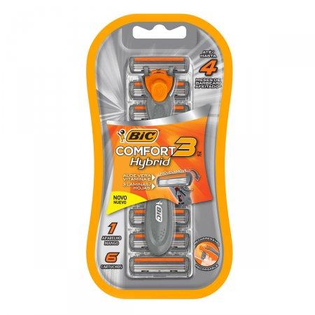 Kit Aparelho de Barbear BIC Comfort 3 Hybrid