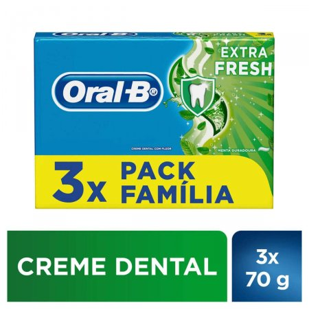 Kit Creme Dental Oral B Extrafresh