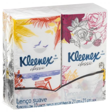 Kit Lenços de Papel de Bolso Kleenex