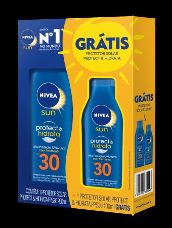 Kit Protetor Solar Corporal Nivea Sun Protect & Hidrata FPS30