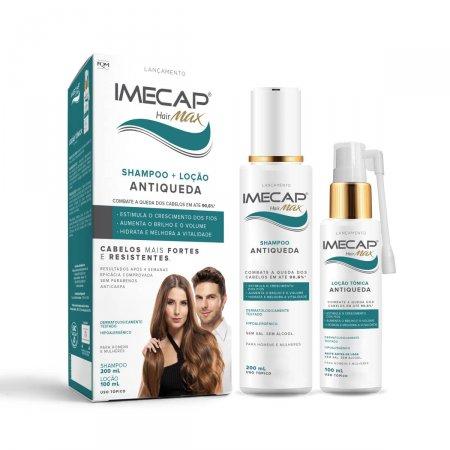 Kit Shampoo + Loção Tônica Antiqueda Imecap Hair Max