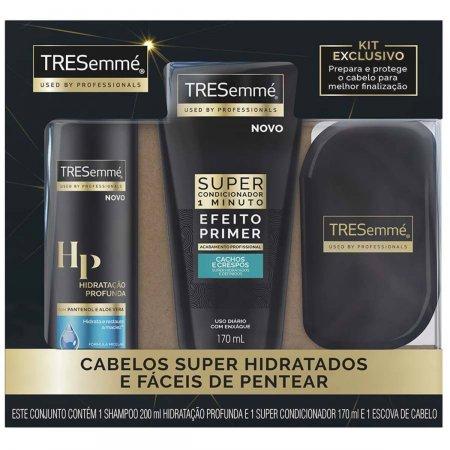 Kit Shampoo Tresemmé Hidratação Profunda + Super Condicionador Cachos