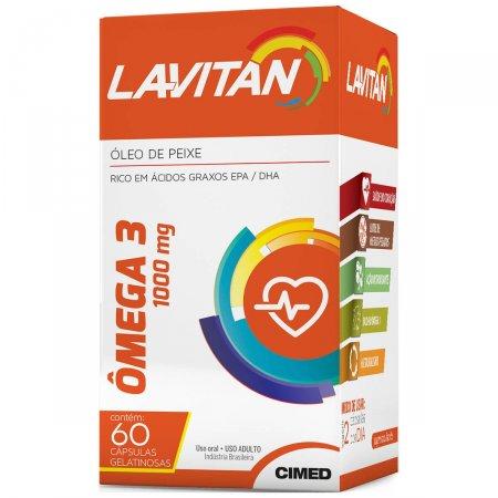 Lavitan Ômega 3 60 Cápsulas