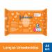 Toalhinhas Umedecidas Johnson's Baby Limpeza e Suavidade 44 Unidades | Onofre.com Foto 2