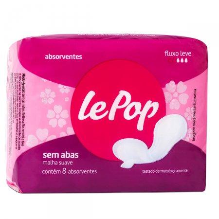 Absorvente Lepop Sem Abas