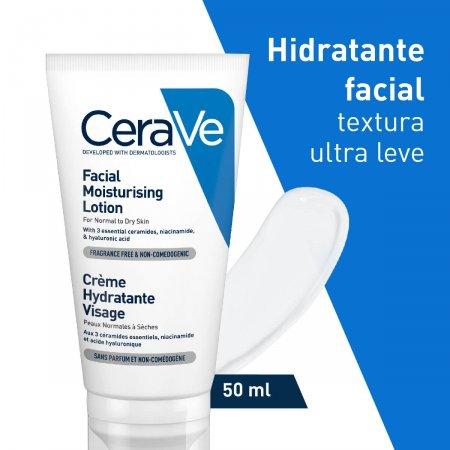 Loção Hidratante Facial CeraVe com 52ml