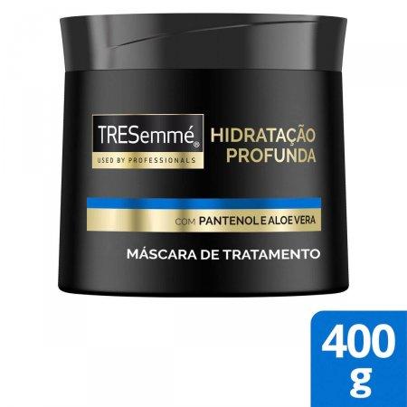 Máscara de Tratamento Capilar Tresemmé Hidratação Profunda com 400g