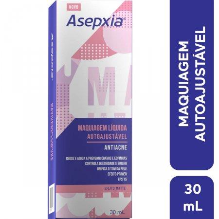 Maquiagem Líquida Autoajustável Asepxia Antiacne