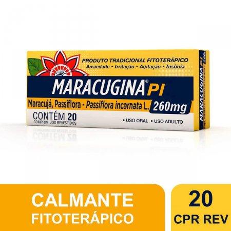 Maracugina PI 260mg com 20 comprimidos