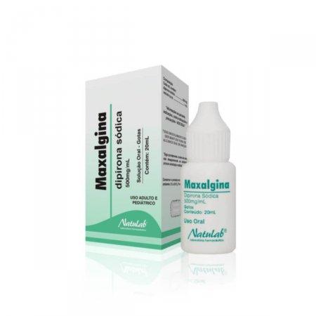 Maxalgina 500mg/ml Solução Oral com 20ml