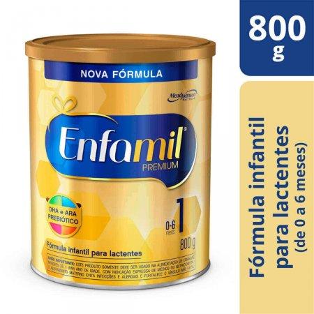 Fórmula Infantil Enfamil Premium 1 com 800g