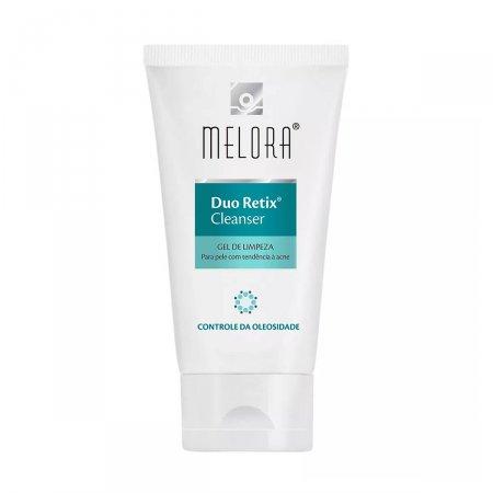 Gel de Limpeza Facial Melora Duo Retix Cleanser Pele Acneica com 150g