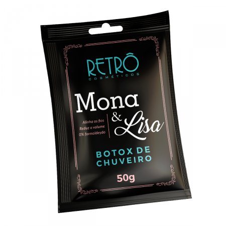 Botox de Chuveiro Mona & Lisa