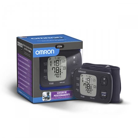 Monitor Digital de Pressão Arterial de Pulso Omron Elite HEM-6221