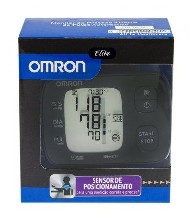 Monitor Digital de Pressão Arterial Automático de Pulso HEM-6221