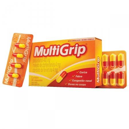 Multigrip 20 Cápsulas