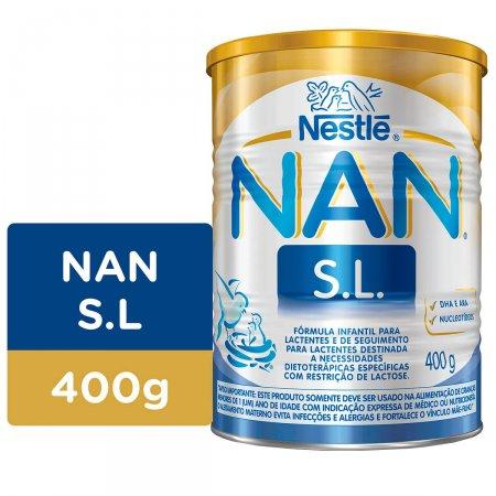 Fórmula Infantil NAN Sem Lactose 400g