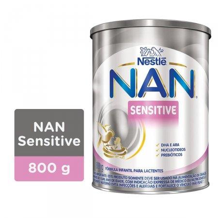 Fórmula Infantil NAN Sensitive 800g | Onofre.com Foto 2