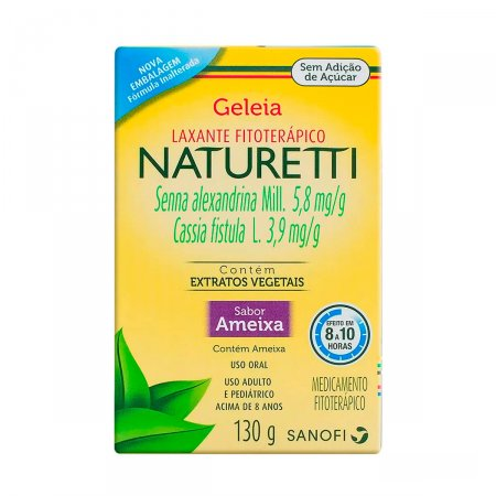 Regulador Intestinal Naturetti Geleia
