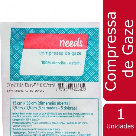 Compressa de Gaze Needs