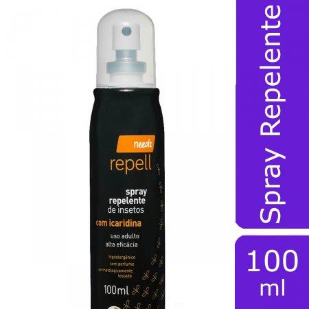 Needs Repelente de Insetos com Icaridina Adulto 10h de Proteção com 20% de Teor Ativo