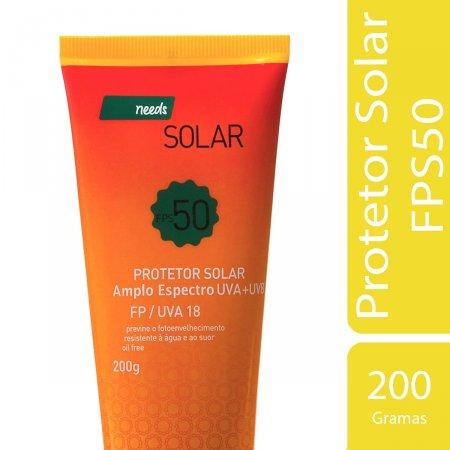 Protetor Solar Needs FPS 50