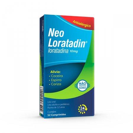 Neo Loratadin 10mg com 12 Comprimidos |