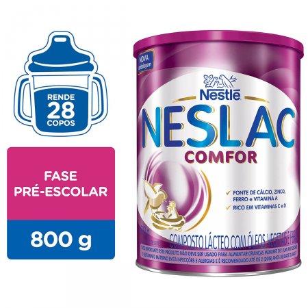 Composto Lácteo Neslac Comfor com 800g