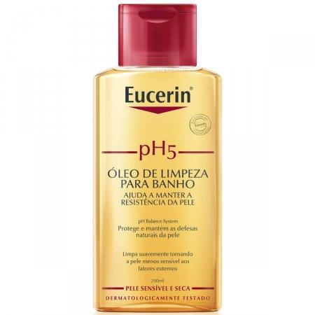 Óleo de Limpeza para Banho Eucerin pH5