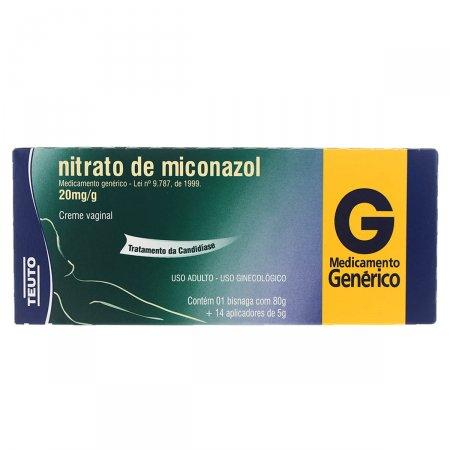 Nitrato de Miconazol 20mg/g