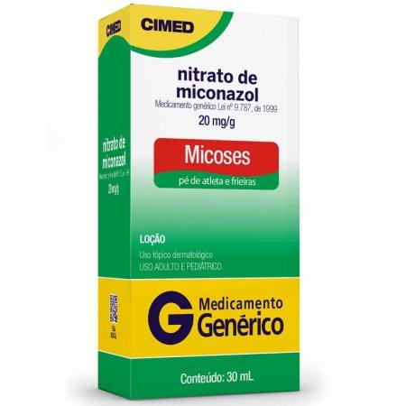 Nitrato de Miconazol 20mg/g Loção 30ml Cimed Genérico