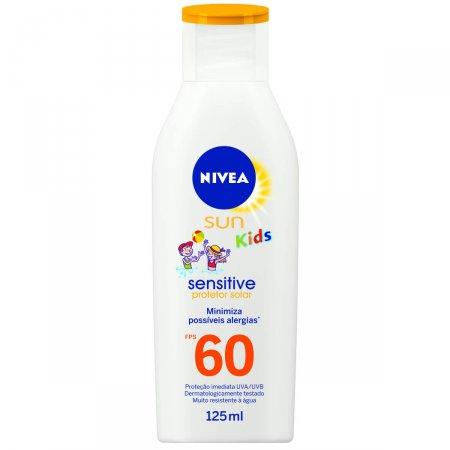 Kit Protetor Solar Nivea Kids Sensitive FPS60 + Baldinho