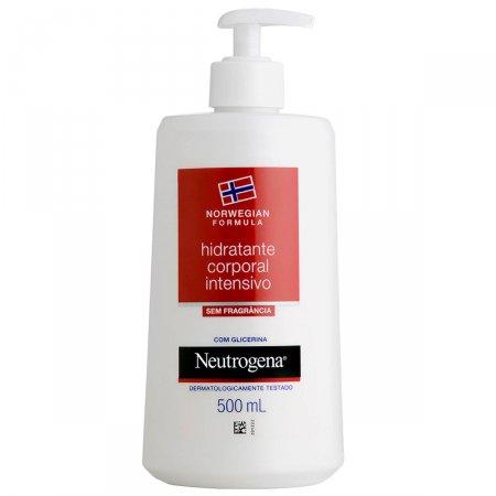Hidratante Corporal Intensivo Neutrogena Norwegian sem Fragância 500ml