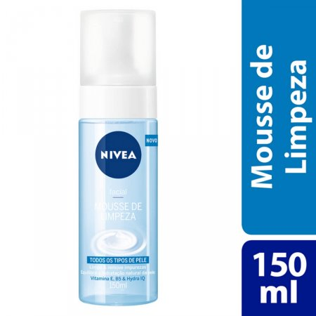 Mousse de Limpeza Facial Nivea com 150ml