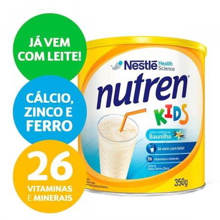 Complemento Alimentar Nutren Kids Sabor Baunilha