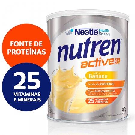 Complemento Alimentar Nutren Active Banana Lata 400g