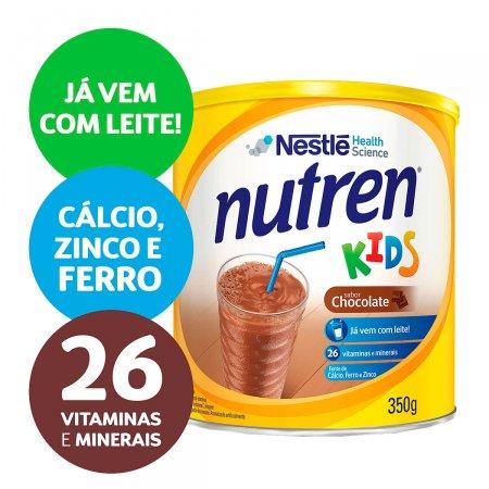 Complemento Alimentar Nestlé Nutren Kids Chocolate Lata 350g