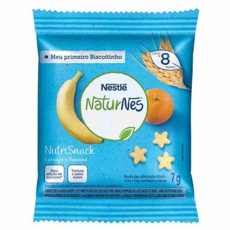 Nutrisnack Nestlé Naturnes Banana e Laranja a partir de 8 Meses