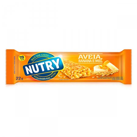 Barra de Cereal Nutry Aveia, Banana e Mel