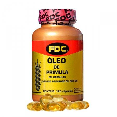 Óleo de Prímula 500mg FDC com 120 Cápsulas