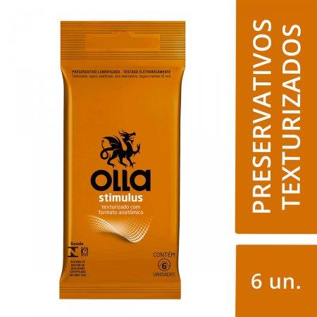 Preservativo Olla Stimulus